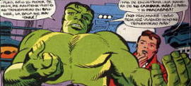 Hulk y Rick Jones